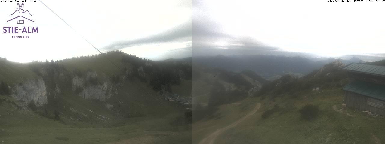 Webcam Ski Resort Lenggries - Brauneck Stiealm - Bavaria Alps - Upper Bavaria