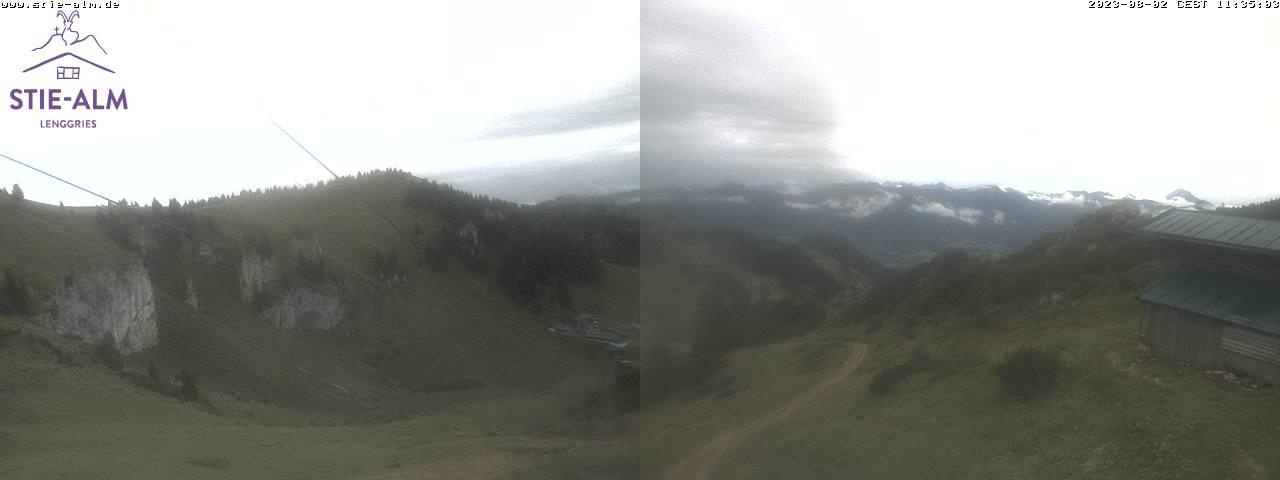 Webcam Skigebied Lenggries - Brauneck Stiealm - Alpen Oberbayern