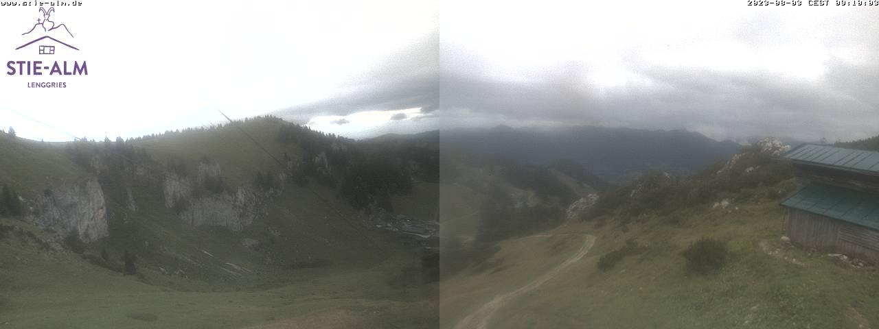 Webcam Skigebiet Lenggries - Brauneck Oberbayern